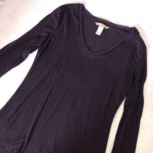 Dark purple Banana republic sweatshirt